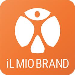 IL MIO BRAND logo arancione