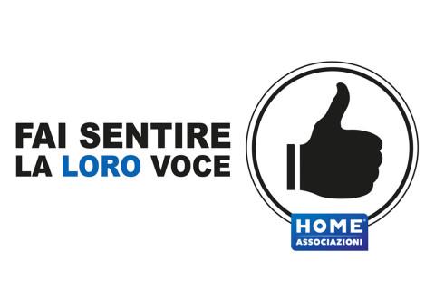 HOME ASSOCIAZIONI – fai sentire la LORO voce